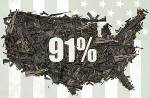 Hartford Screening of 91%: a Film About Guns in America @ Mark Twain House | Hartford | Connecticut | United States