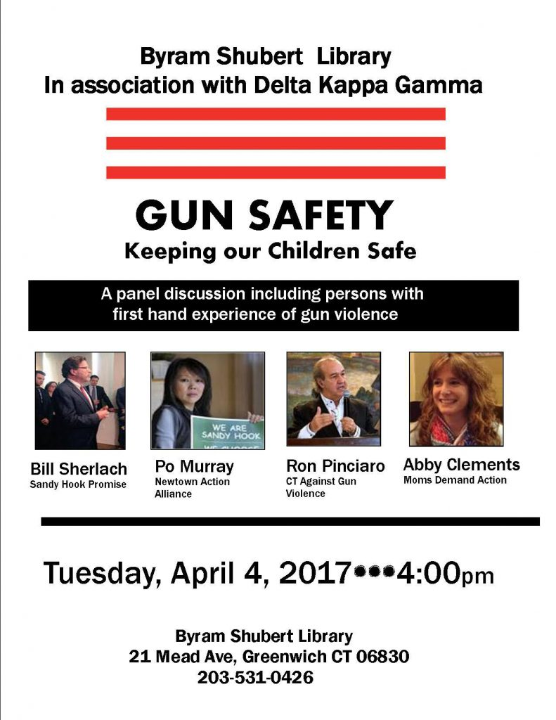 Gun Safety Event in Greenwich @ Byram Shubert Library | Greenwich | Connecticut | United States