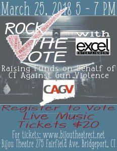Rock the Vote @ Bijou Theatre | Bridgeport | Connecticut | United States